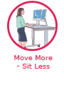 Move more - sit less